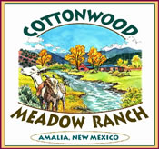 Cotton Meadow Ranch Northern New Mexico Vacation Cabin Rental & Fly Fishing