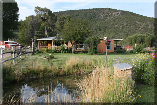 Cottonwood Meadow Ranch Northern New Mexico Vacation Cabin Rentals & Fly Fishing